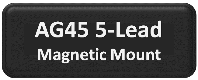 AG45 MIMO 5-Lead Magnetic Mount Antenna