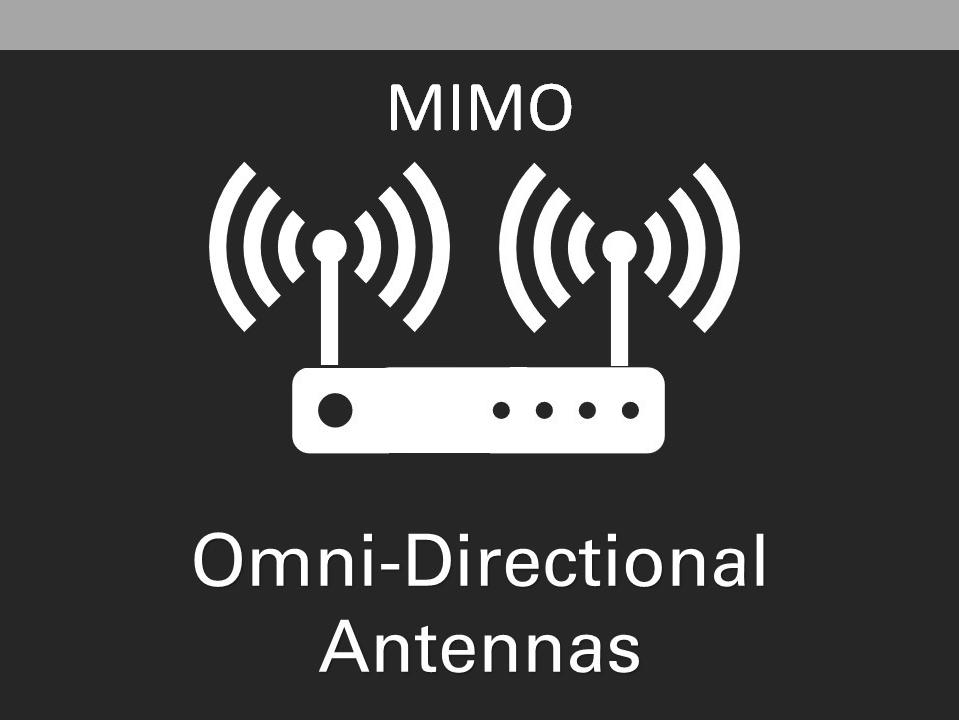 Omni MIMO 4G 5G LTE Antennas