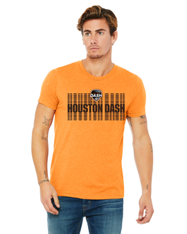 Houston Dash Men's Logo Tee
