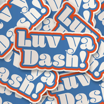 Luv Ya Dash Sticker