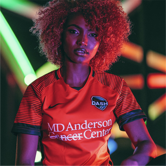Nike Houston Dash 2020/2021 Custom Youth Home Jersey