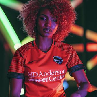 Nike Houston Dash 2020/2021 Custom Youth Home Jersey