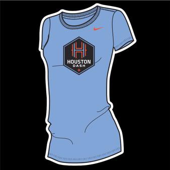 Houston Dash Nike Dri-Fit Women's Tee