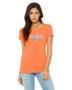 Women's Dash On Tee - Orange