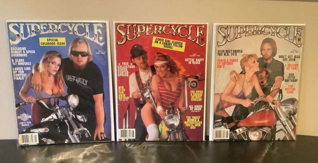 Super Cycle Magazine, SuperCycle,  vintage, bikers, coolintocash.com, shopthegarage.com, Bingo's Swap Meet Garage