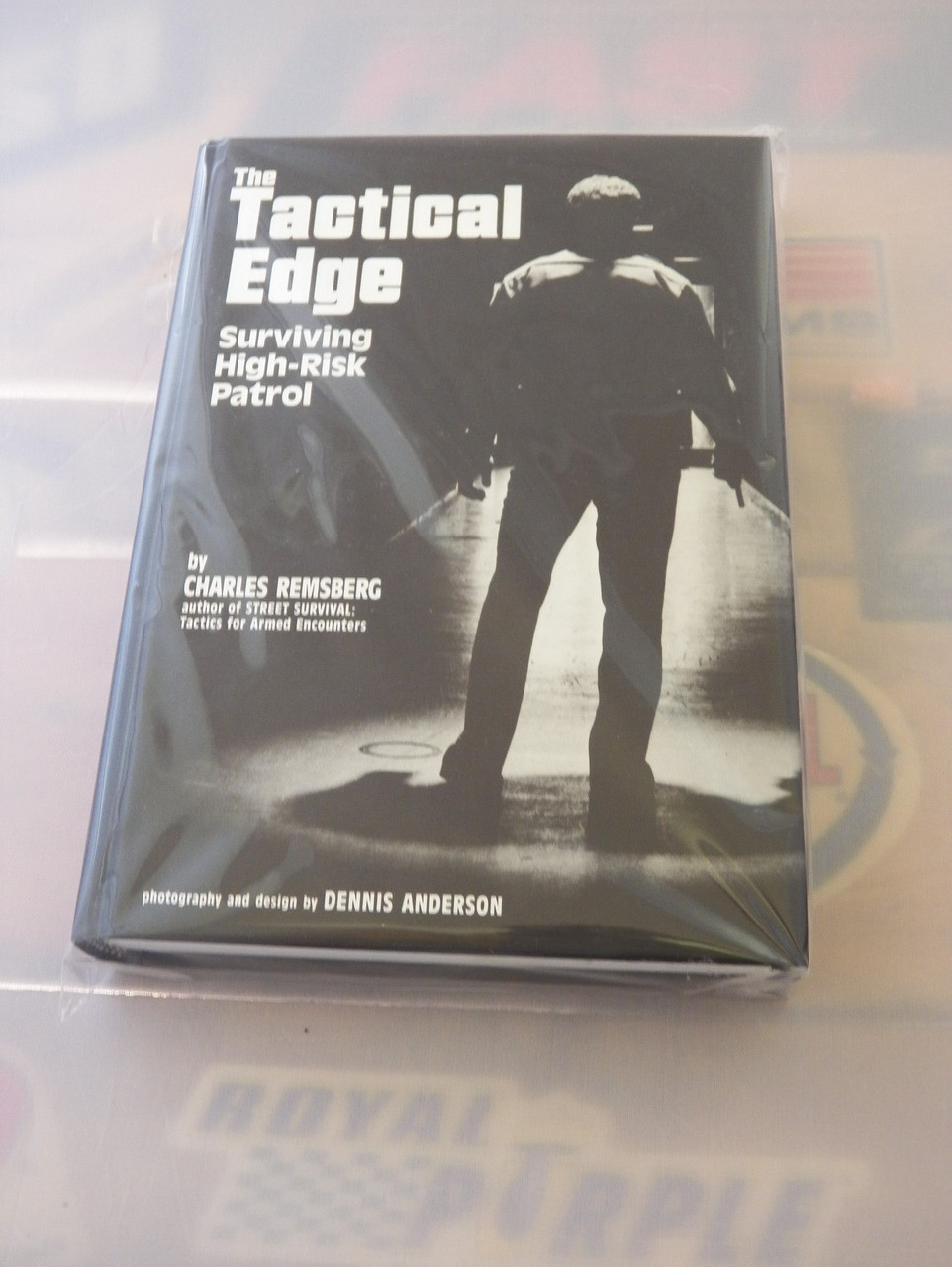 TACTICAL EDGE STREET SURVIVAL POLICE TRAINING STREET SMARTS HIGH RISK PATROL  Pair of Books