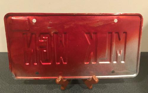 "Michigan Vanity Plate MLK WGN "" Milk Wagon"""