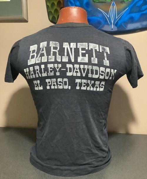 Vintage 1980's Spread Wings Eagle  Harley-Davidson t-shirt , Barnett H-D Texas,  sz L MADE IN USA, coolintocash.com, shopthegarage.com, coolintocash, shop the garage, Bingo's Swap Meet Garage