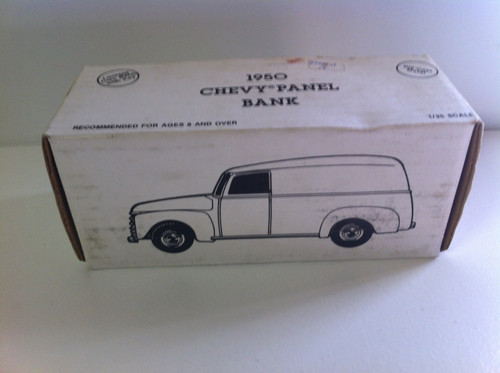 Ertle 1950 Chevy Delivery Wagon Dime bank
