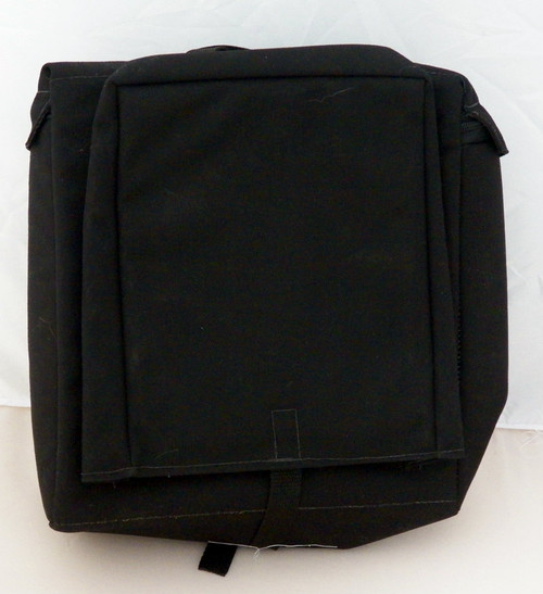 Road Ready lined canvass sissybar bag (used)