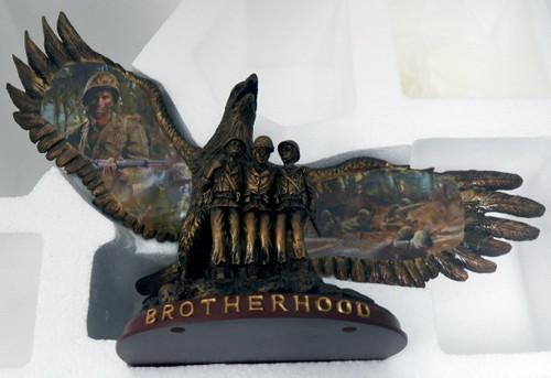 """Bradford Exchange USMC """"Legacy of Brotherhood"""" figure"""