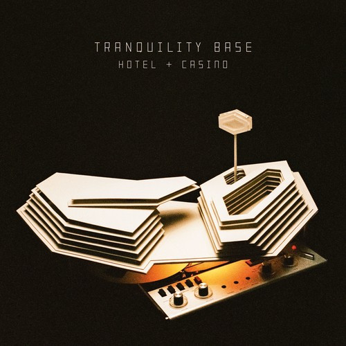 ARCTIC MONKEYS - Tranquility Base Hotel & Casino (Clear Vinyl, 180 Gram Vinyl, Indie Exclusive, Digital Download Card)