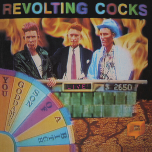 Revolting Cocks - Live! You Goddamned Son Of A Bitch (Deluxe Edition, Gatefold LP Jacket, Red, Reissue)
