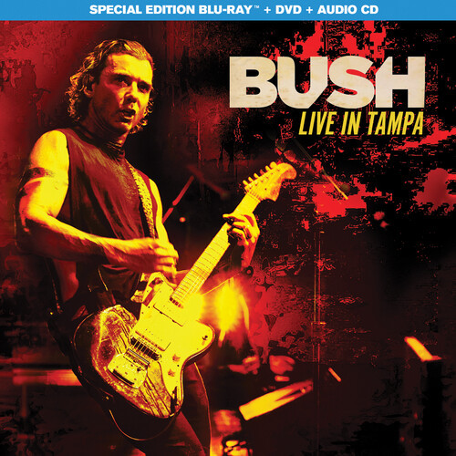 Bush: Live in Tampa (Blu Ray With DVD)