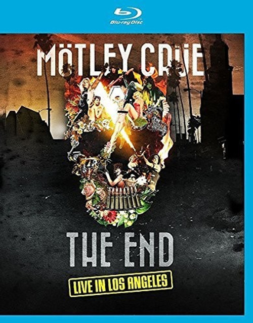 Mötley Crüe: The End: Live in Los Angeles (UK- Import -Blu-ray All Region pressing)