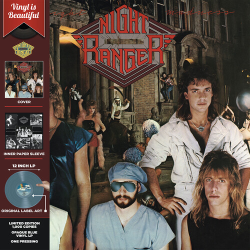 Night Ranger - Midnight Madness (Light Blue Opaque Vinyl)