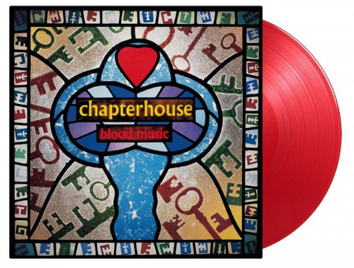 Chapterhouse - Blood Music (Limited Edition, Gatefold LP Jacket, 180 Gram Vinyl, Colored Vinyl, Red)