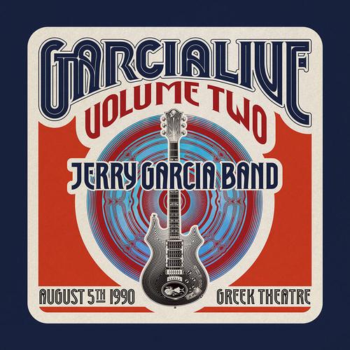 JERRY GARCIA BAND - GarciaLive Volume Two: August 5th, 1990 Greek Theatre (RSDBF 4 x LP)