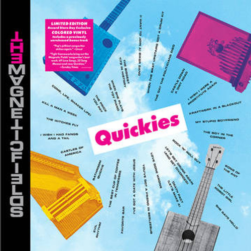 MAGNETIC FIELDS - Quickies (RSDBF)