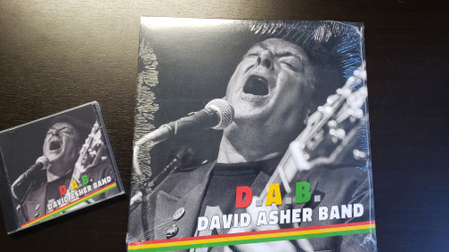 DAVE ASHER BAND - D.A.B. (LP)