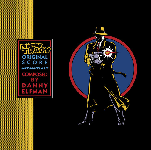 OST- Dick Tracy (Original Score) (Colored Vinyl, Blue, Clear Vinyl, Brick & Mortar Exclusive)