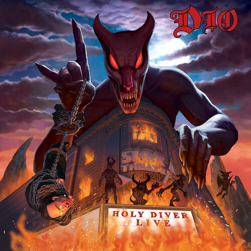 Dio - Holy Diver Live ( 3LP Limited Edition, Lenticular Cover)