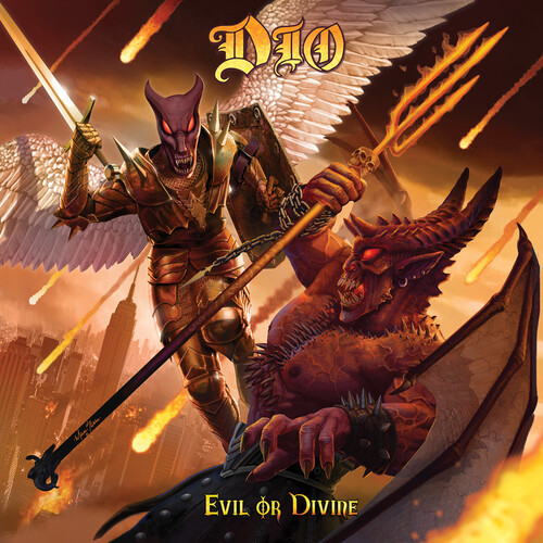 DIO - Evil Or Divine: Live In New York City (3LP Limited Edition, Lenticular Cover)