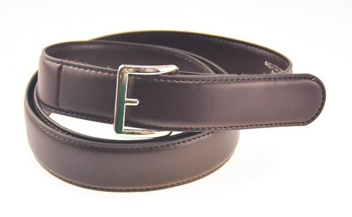 1.3 inch wide Genuine Leather Belt in Brown with Smooth Finish
