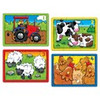 Orchard Toys farm puzzles 4 in a box