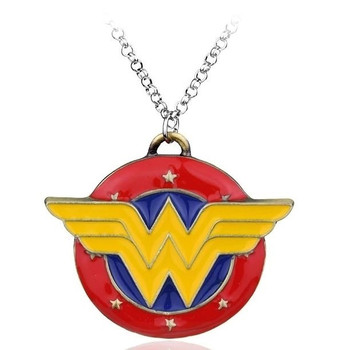 wonder woman color pendant