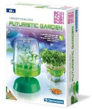 futuristic garden