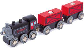 steam era freight train
