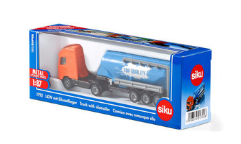 truck with solotrailer