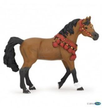 papo arabian horse in parade dres