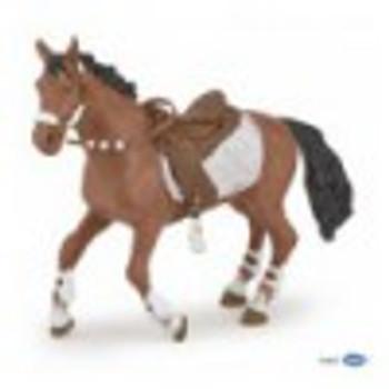 papo winter rider girl horse