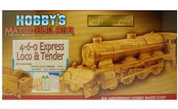 loco & tender match stick