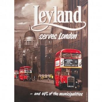leyland a5 tin sign