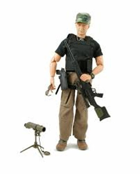 there is different army men. chosen at random