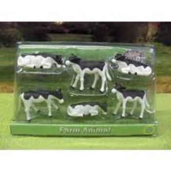 farm animals 6 calves
