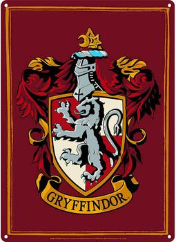 gryffindor harry potter a5 tin sign