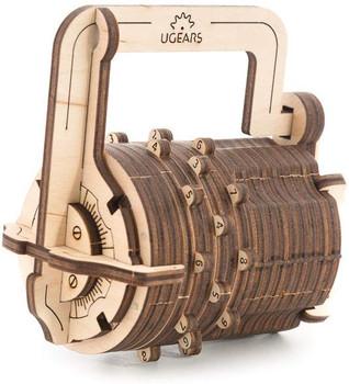 U Gear Combination Lock