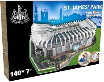 St James football stadium 3D puzzle