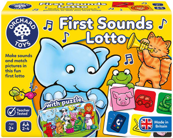 Orchard Toys First Sounds Lotto Game