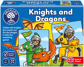 Knights and dragons Orchard Toys