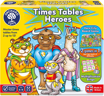 Times Tables Hero Orchard Toys
