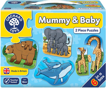 Mummy and Baby Jigsaw Orchard Toys
