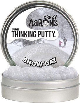 Crazy Aaron's thinking putty. Snow day