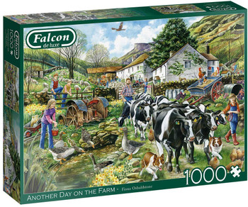 Jumbo 11283 Falcon de luxe - Another Day on the Farm 1000 piece Jigsaw Puzzle