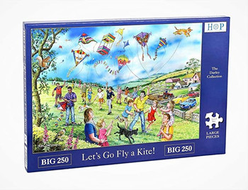 House of puzzles 250 big piece Lets go fly a kite