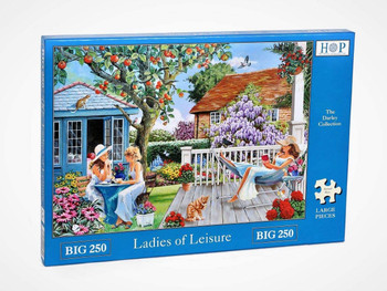 House of puzzles 250 big pieces Ladies of Leisure